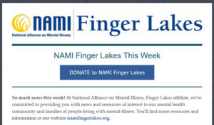 NAMI Finger Lakes News