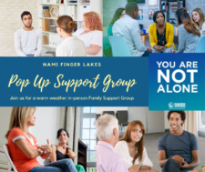 Register for In-Person Outdoor NAMI Family Support Group @ Outdoor Downtown Ithaca location TBD